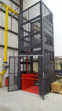Manual Handling Solutions, Goods Lifts
