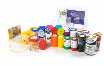 TAMPER PROOF RING SEAL LABELS FOR POLY BOX AND ROUND CHARITY MONEY BOXES