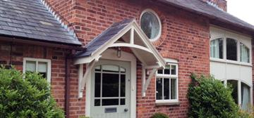 Townhouse Products Timber Door Canopies | timber canopy