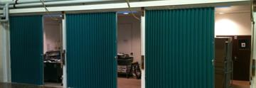 Beehive Folding Partitions