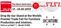 Drop By Our Stand at the World's Premier Trade Fair for Furniture Production and Interiors