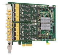 Unique eight channel PCIe M2p AWG cards with   MHz output