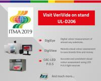 VeriVide to exhibit visual and digital evaluation products at ITMA 2019