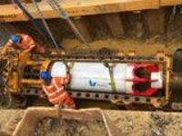 Guided Auger Boring – Installing DN600 Concrete Pipe