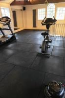 Specialist floor coverings for private gyms