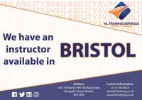 RTITB & ITSSAR Forklift Instructors Available In Bristol