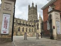 Rising Bollard System – Gloucester Cathedral