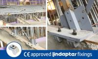 Lindapter Clamps Provided a Quick Installation