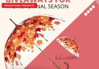 Promotional Giveaways for the Autumnal Season