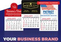 Your Business Brand Can Be Present All Year with Promotional Calendars