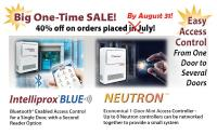 Special Pricing on Neutron and Intelliprox Blue