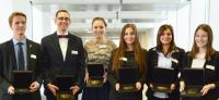 Ludwig Schunk Prizes awarded Six THM graduates awarded for achievements in studies and honorary office