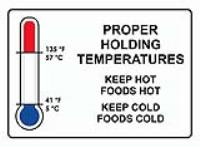 HOW TO ENSURE SAFE FOOD TEMPERATURES