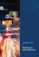 Check Out Our New Products and Services Brochure