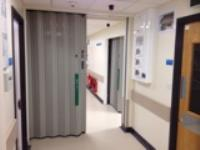 Day to day ease of use, with fire protection when needed- have both with Beehive Fireguard partitions