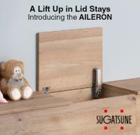 A Lift Up in Lid Stays - Introducing the AILERON
