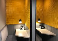 What does acoustic treatment in the office look like?