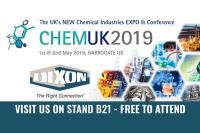 Dixon to Exhibit at ChemUK