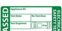 PAT TESTING LABELS AND THE INFORMATION