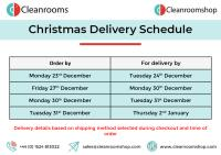 Christmas Ordering And Delivery Dates 2019