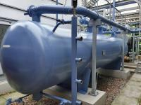 Tank Valves and Pipelines Painted