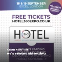 We're Partnered with Hotel360!