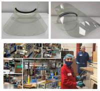 Plastics By Design Ltd Leads the Way to Provide Face Shields for the NHS Nurses Tackling Coronavirus