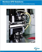 Fluid Dispensing Guide for Stock Lubrication and Metal Stamping