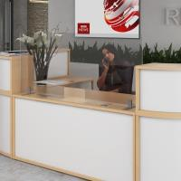 Acrylic Free Standing Reception Protection Screens