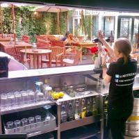 Utilise outdoor space when your bar re-opens