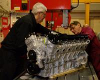 Accurate restores classic motor engines… Sawing multiple metals