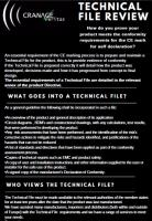 Technical File Review Help Sheet