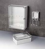 IN-BOX Transparent-Lid Enclosures Now In PC – 16 Sizes