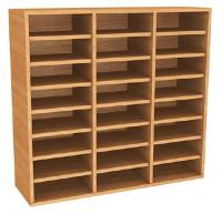 Wooden Pigeon Hole Units