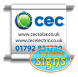 Scaffold Banners and Signs