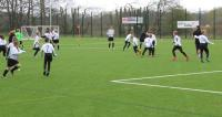 ZAUN SPORTS FENCING USED TO PROVIDE FOOTBALL FACILITIES TO 350 CHILDREN
