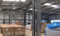 J & E Hall chillers installed at food processing warehouse