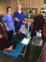 BurmaDent dental charity successfully treats 100 patients on average per day using NewCoDent mobile dental units and accessories.