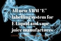 All new labelling machine specifically developed for E-liquid manufactures