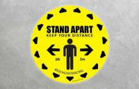 Social Distancing Floor Stickers on Sale NOW
