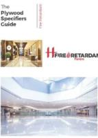 THE SPECIFIERS GUIDE – FIRE RETARDANT PANELS