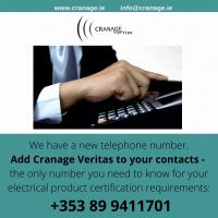 New telephone number for Cranage Veritas