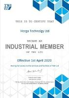 Striving for excellence in product development: Herga Technology announces TWI membership
