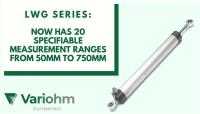 Expanded choice for well proven linear position sensor range