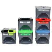 Sort Waste & Save Space with New Stackable Recycling Bins by Glasdon