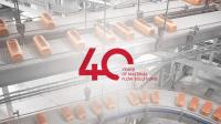 FlexLink celebrates 40 years of material flow solutions!