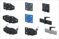 New Hinges from Elesa get the best out of reinforced technopolymers