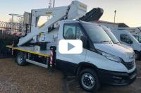 Video: 24m Chassis mounted platform in action