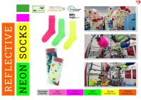 Kingly launched ecofriendly neon socks