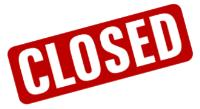 Notice of Closure - Monday 11th May 2020